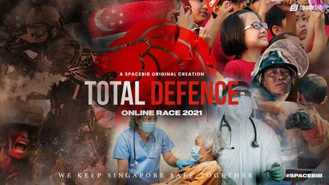 Total Defence Online Race 2021