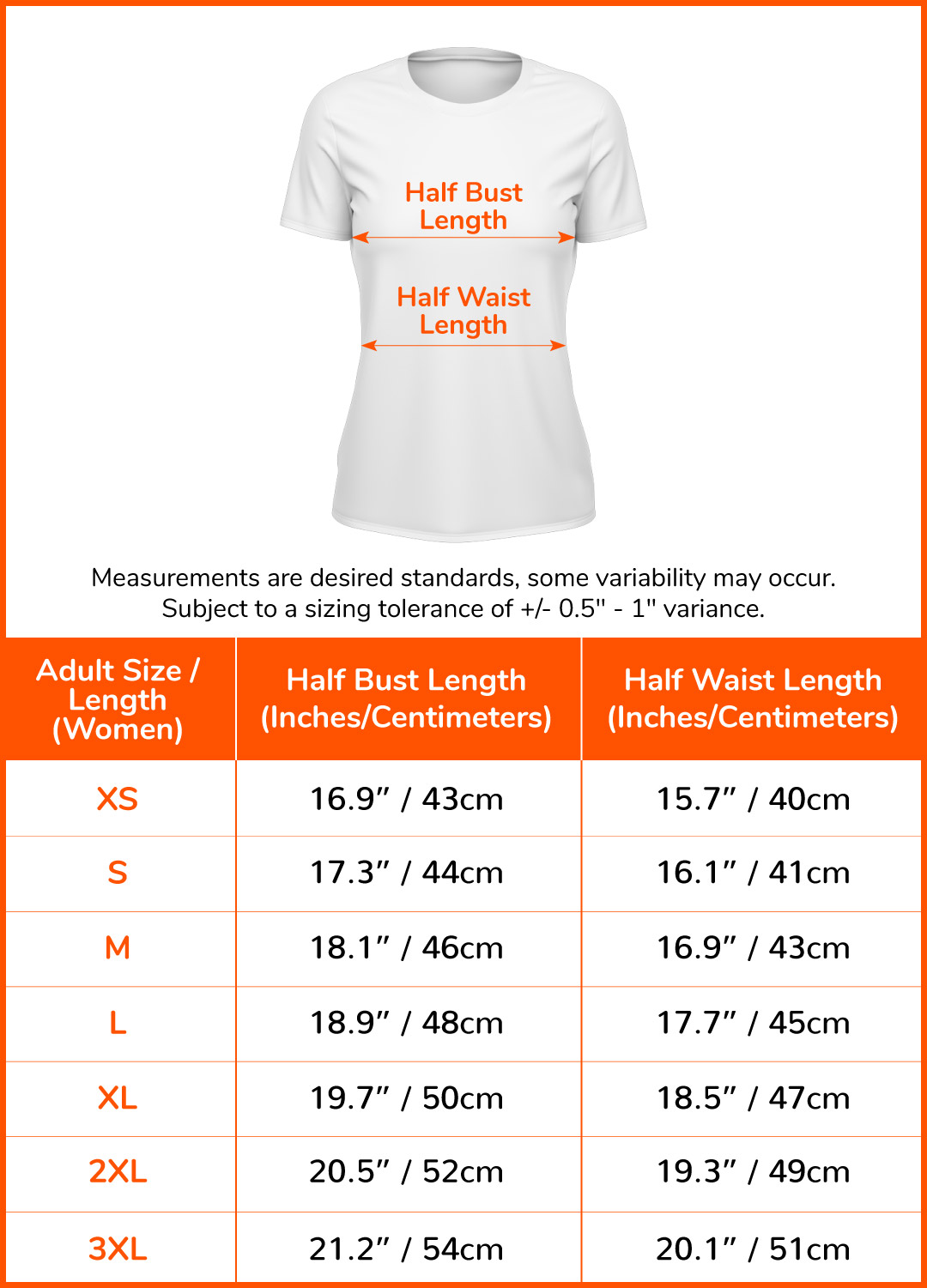 Finisher T-Shirt#size-chart