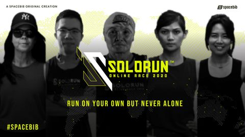 Solo Run Online Race 2020